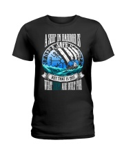 Norse Viking Gift For A Viking Warrior Blue Ladies T-Shirt thumbnail