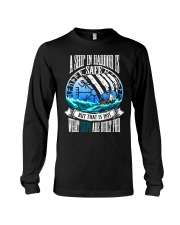 Norse Viking Gift For A Viking Warrior Blue Long Sleeve Tee thumbnail