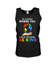 In A World Where You Can Be Anything Be Kind LGBT  Unisex Tank thumbnail