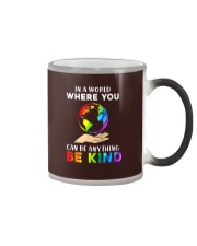 In A World Where You Can Be Anything Be Kind LGBT  Color Changing Mug thumbnail