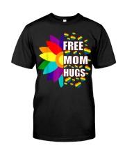 FreeMom Hugs LGBT Gay T-Shirt Premium Fit Mens Tee thumbnail