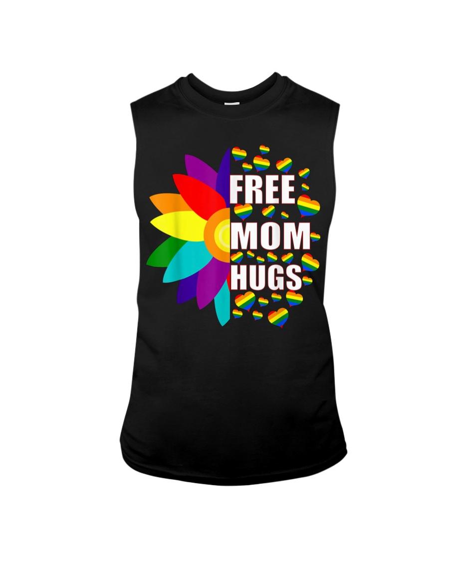 FreeMom Hugs LGBT Gay T-Shirt Sleeveless Tee