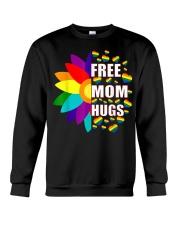 FreeMom Hugs LGBT Gay T-Shirt Crewneck Sweatshirt thumbnail