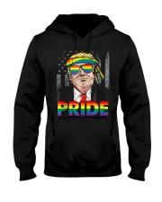 Trump LGBT Gay Pride Month Lesbian Bisexual  Hooded Sweatshirt thumbnail