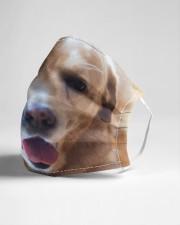 Big Face Labrador Retriever Cloth Face Mask - 3 Pack aos-face-mask-lifestyle-21