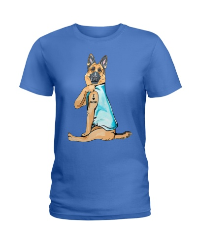 Limited Edition - German Shepherd I Love Mom