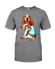 Limited Edition - I Love Mom Basset Hound Classic T-Shirt thumbnail