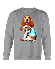 Limited Edition - I Love Mom Basset Hound Crewneck Sweatshirt thumbnail