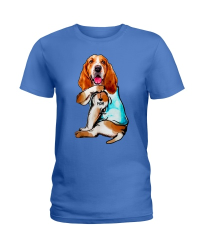 Limited Edition - I Love Mom Basset Hound