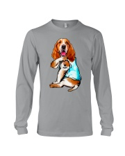 Limited Edition - I Love Mom Basset Hound Long Sleeve Tee thumbnail