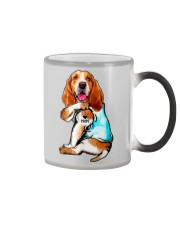 Limited Edition - I Love Mom Basset Hound Color Changing Mug thumbnail