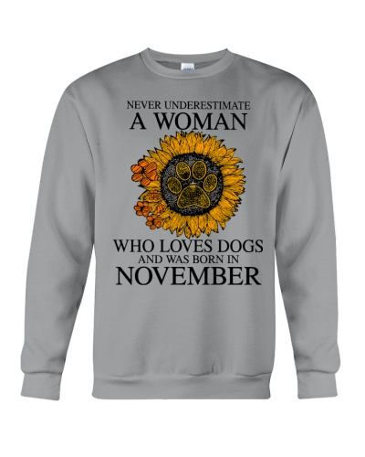 A Woman Who Loves Dogs And Was Born In November