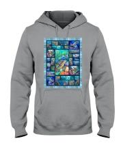 Turtle Loves Hooded Sweatshirt thumbnail