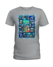 Turtle Loves Ladies T-Shirt thumbnail