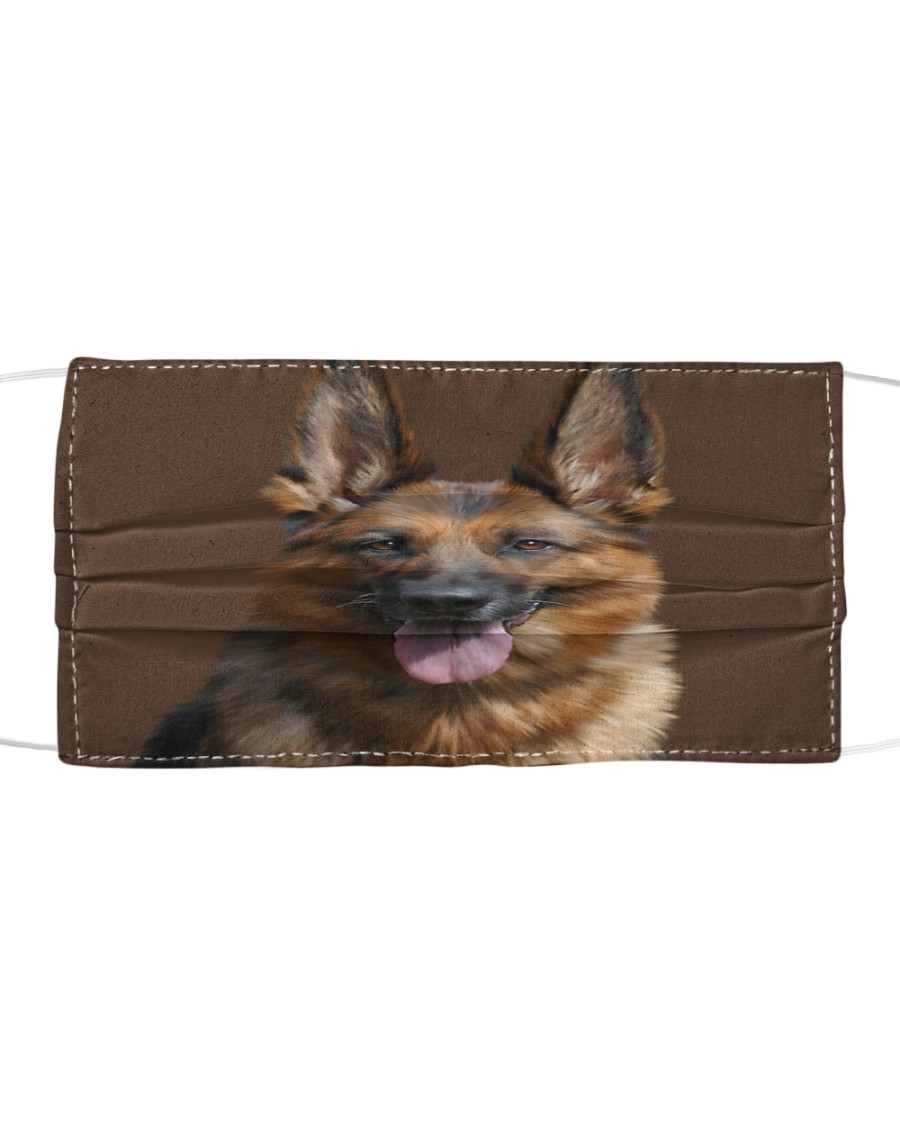 Big Face German Shepherd Cloth face mask