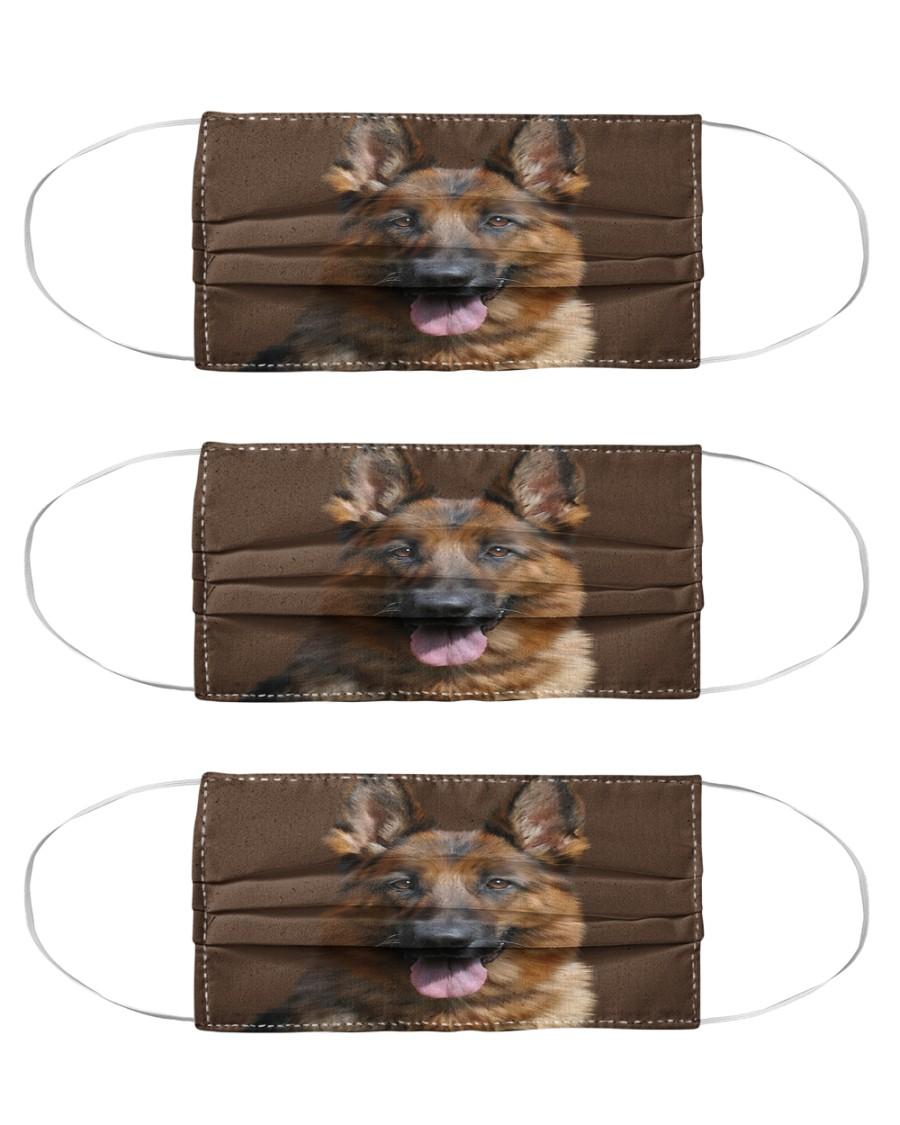Big Face German Shepherd Cloth Face Mask - 3 Pack