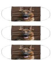 Big Face German Shepherd Cloth Face Mask - 3 Pack front