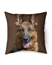 "Big Face German Shepherd Indoor Pillow - 16"" x 16"" thumbnail"