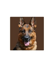 Big Face German Shepherd Square Magnet thumbnail
