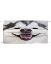 Big Face Husky Cloth face mask front