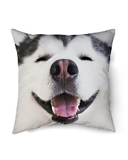 """Big Face Husky Indoor Pillow - 16"""" x 16"""" thumbnail"""