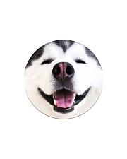 Big Face Husky Circle Magnet thumbnail