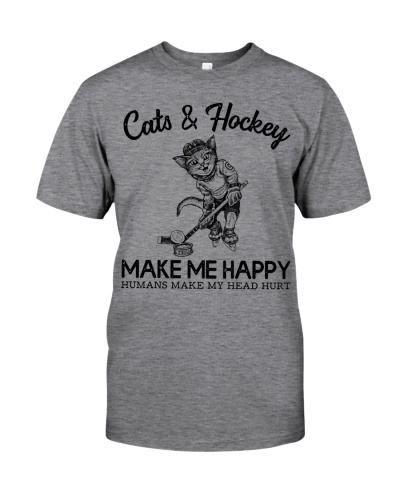 Limited Edition - Cats And Hockey Make Me Happy