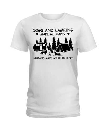 Limited Edition - Dogs And Camping Make Me Happy