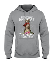 On A Dark Desert Highway - Cool Wind In My Hair Hooded Sweatshirt thumbnail