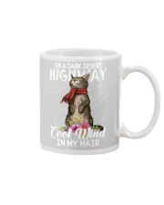 On A Dark Desert Highway - Cool Wind In My Hair Mug thumbnail