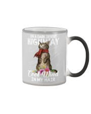 On A Dark Desert Highway - Cool Wind In My Hair Color Changing Mug thumbnail