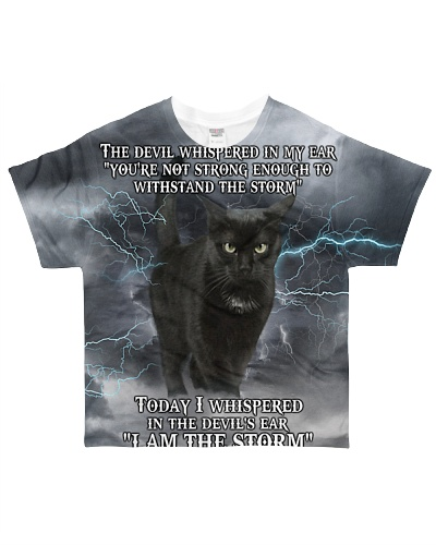 Limited Edition - Cat Lovers - I Am The Storm