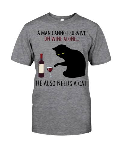 Limited Edition - A Man Also Needs A Cat On Wine