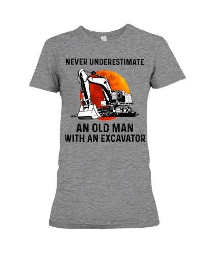 Never Underestimate An Old Man With An Excavator