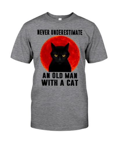 Never Underestimate An Old Man With A Cat