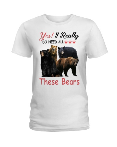 Yes I Really Do Need All These Bears