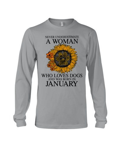 A Woman Who Loves Dogs And Was Born In January
