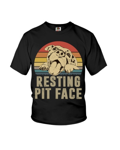 Limited Edition - Resting Pit Face
