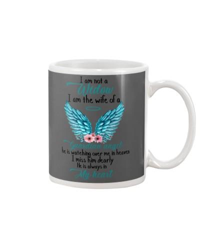 I Am Not A Widow I Am The Wife Of A Guardian Angel