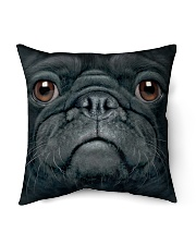 Big Face Pug Indoor Pillow tile