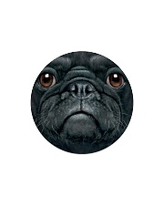 Big Face Pug Circle Magnet thumbnail