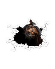 Horse Sticker - Single (Horizontal) front