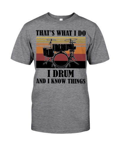 That's What I Do - I Drum And I Know Things