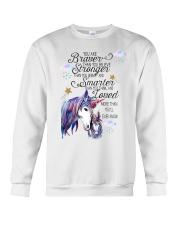 You Are Brave Than You Believe Crewneck Sweatshirt thumbnail