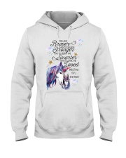 You Are Brave Than You Believe Hooded Sweatshirt thumbnail