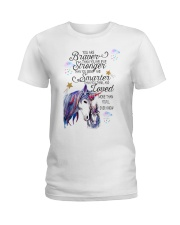 You Are Brave Than You Believe Ladies T-Shirt thumbnail