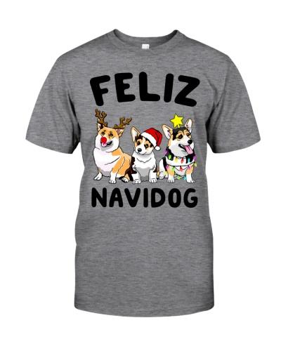 Limited Edition - Feliz NaviDog Corgi