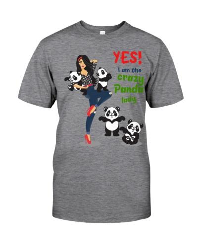 Limited Edition - crazy panda lady
