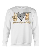 Limited Edition - Peace Love Sloths Crewneck Sweatshirt thumbnail
