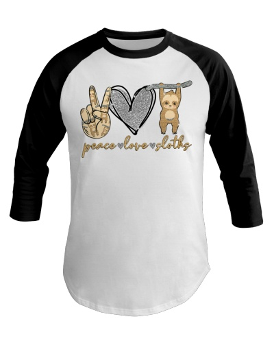 Limited Edition - Peace Love Sloths
